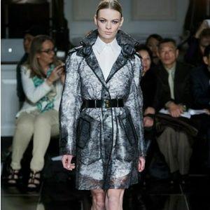Jason Wu Lace Clear Rain Coat