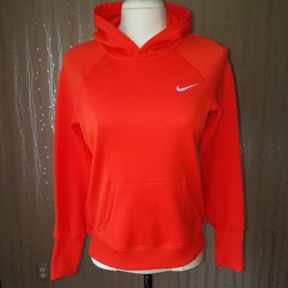 2018 shoes coupon codes cheaper Nike Therma Fit Orange Pullover Hoodie