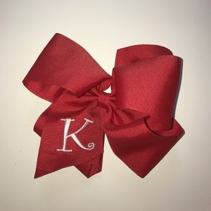 Wee Ones Other - Red K bow