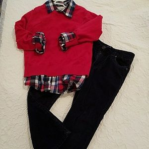 Other - Boy's Sweater/Shirt/Cords set
