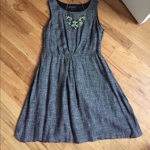 Brooks Brothers Dresses & Skirts - Gray a-line sleeveless dress