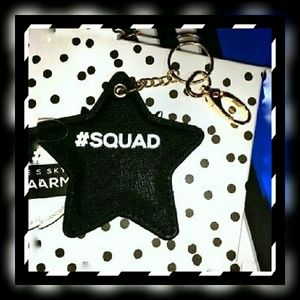 Under One Sky Accessories - {Under One Sky} #Squad Keychain