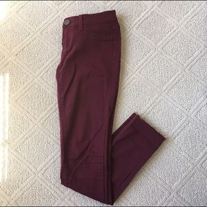Tilly's Denim - Maroon RSQ Jeans