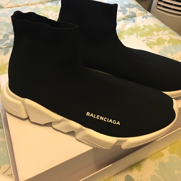 how to clean balenciaga speed trainers