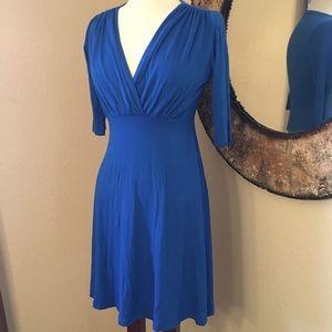 Maternal America Dresses & Skirts - Blue dress knee length or above depends on hight