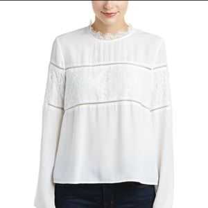 Mustard Seed Tops - NWT! White lace blouse