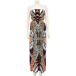 Beautiful River Island maxi dress with side splits