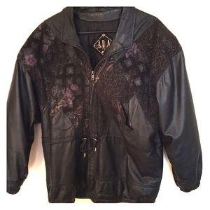 ADA Jackets & Blazers - Vintage ADA Leather Jacket