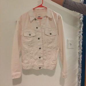 Brandy Melville Light Pink Jean Jacket