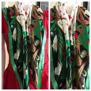 Vintage Jacobsons Silk Scarf or Wrap, Large, NOS