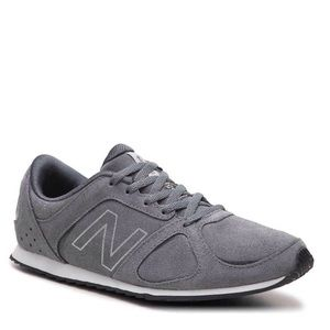 New Balance Retro Sneaker in Charcoal Gray