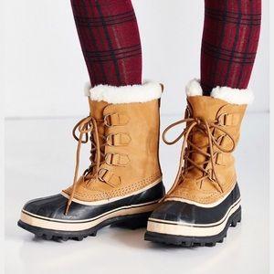 Sorel Shoes - Sorel Caribou Shearling Lined Buff Boot