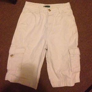 John Deere Other - Boys John Deere khaki shorts. Sz 14