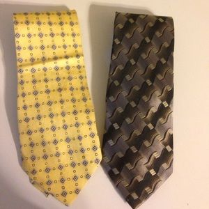 Arrow Other - Lot of 2 men's ties. Arrow. Stafford.
