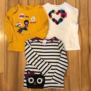 Gymboree Other - Trio of EUC Gymboree shirts