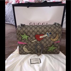 Gucci Handbags - leather dionysus style bag