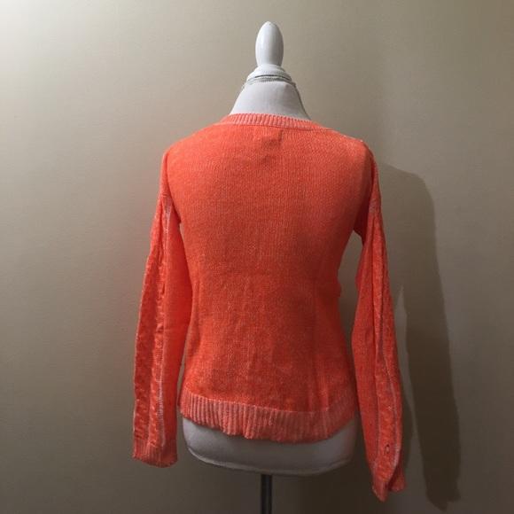 65% off Mudd Sweaters - Mudd, Neon orange sweater from Kelly's ...