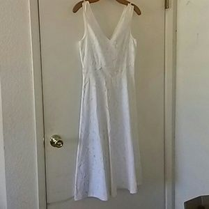 Nwt white cutout dress from J. Crew