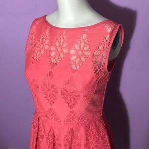 Maggy London Dresses & Skirts - Maggy London pink lace dress