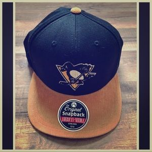 American Needle Other - Pittsburgh 🐧Penguins 🏒Snap-Back Hat  New✔️