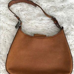 SALE: Vintage Coach Leather Bag