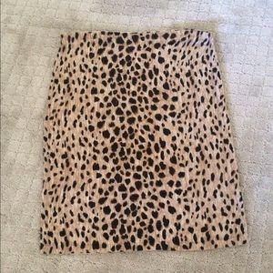 Merona Dresses & Skirts - Leopard Print Skirt