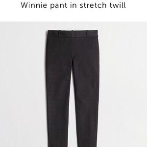 J. Crew Pants - NWT J. Crew Factory Winnie twill pants black
