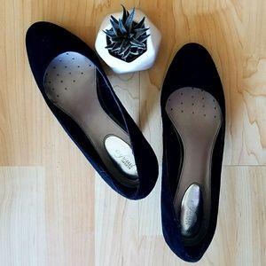 Alfani Shoes - Basic Black Suede Pumps