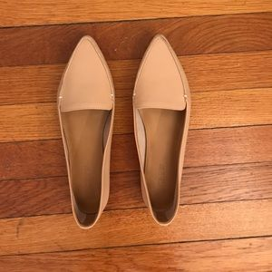 cc646f39549 J. Crew Factory Shoes - NEW J. Crew Factory Edie Leather Loafer Beige 8