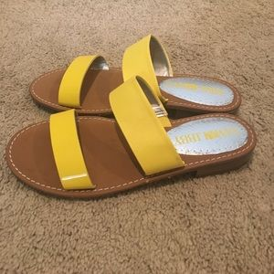 Sam & Libby Shoes - Sam and Libby yellow sandals