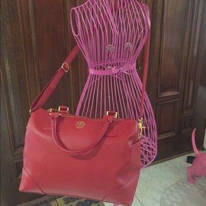 Tory Burch Handbags - Tory Burch Red Bag
