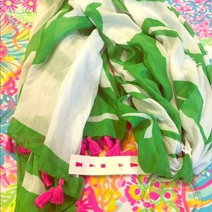 Lilly Pulitzer for Target Scarf nwt!