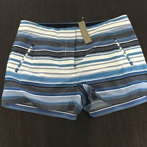 J. Crew striped shorts - brand new with tags!