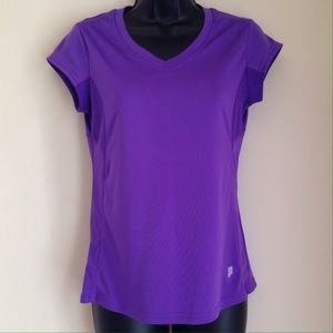 Prince Tops - Plum Color Workout Top