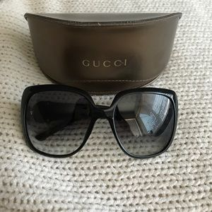 Large Gucci Frame Sunglasses