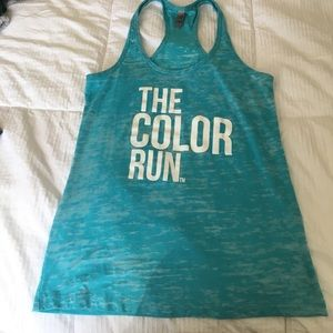 next level Tops - Color Run Tank
