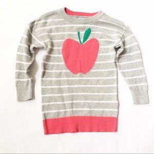 GAP Other - BABY GAP [baby girl] Gray Apple Sweater Tunic