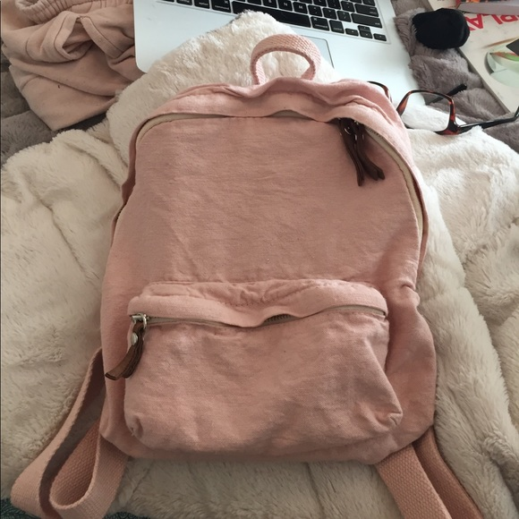 887f2b81ea Brandy Melville Handbags - brandy melville john galt pink mini backpack