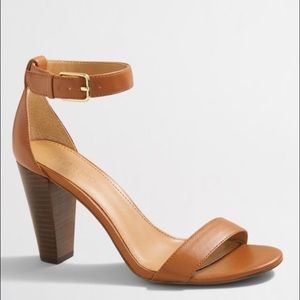 J. Crew Factory Shoes - NEW J. Crew Factory Stacked Heel Sandal 7.5