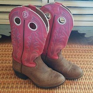 Tony Lama Other - Girls Tony Lama 3R Buckaroo Cowgirl Boots