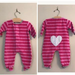 Magnificent Baby Other - Magnificent Baby Smart Close Pajama Pink Striped