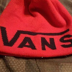 Vans Other - Red Vans Beanie
