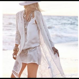 Other - Price Firm🎁 Crocheted kimono, cover up 🎉HP🎉