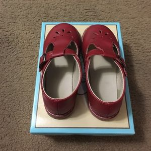 Baby Deer Other - Baby Deer Red Leather Shoes