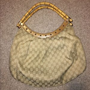 Gucci Handbags - Gucci Handbag with Bamboo Handles