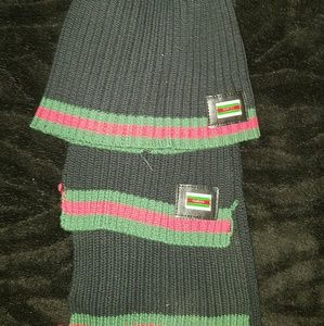 Gucci Other - Gucci Hat and scarf bundle 240 OBO
