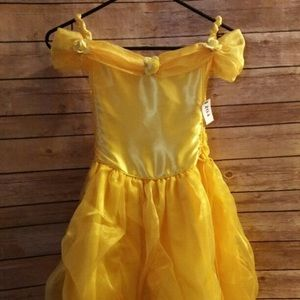 Hanmade Other - NEW HANDMADE BELLE GOWN W/GLOVES N HEADBAND SZ 6-8
