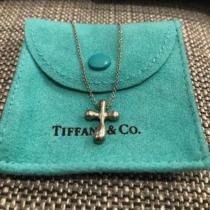 Tiffany & Co. Jewelry - Tiffany & Co Elsa Peretti Cross Necklace