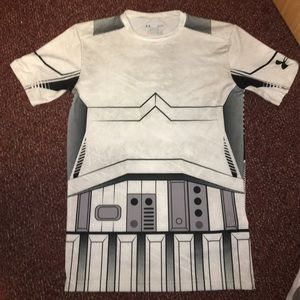 Under Armour Other - ❗️UNDERARMOUR COMPRESSION SHIRT - STARWARS THEMED