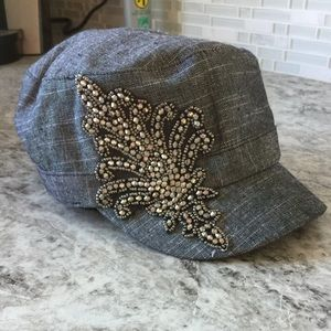 Charming Charlie Accessories - Patrol Style hat with cute detail